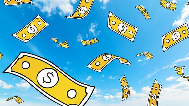 ◆北米◆クレイジー!米サッカークラブ、ヘリコプターからファンに現金をバラ撒く