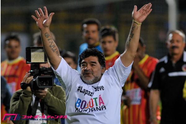 ◆悲報◆マラドーナ氏、今度は「平和祈念」チャリティーでご乱行 カメラマンを蹴りさらに女性にビンタ(動画)