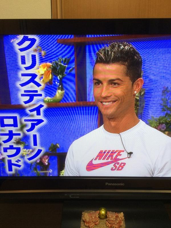 ◆テレビ出演◆クリロナ、食わず嫌い王で筋肉披露!!思わずポルトガルジョークww!!(動画)