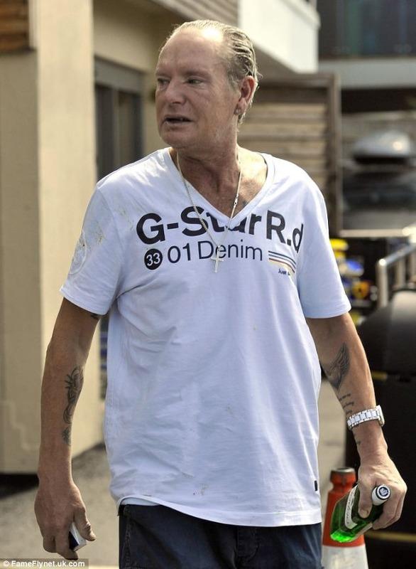 ◆画像◆元イングランド代表FWポール・ガスコイン(49)の風貌がすでに70近くのお爺ちゃんだと話題に!