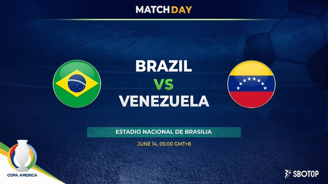 ◆コパ・アメリカ◆B組1節 ブラジル×ベネズエラ ネイマール1G1A全得点に絡み3-0で完勝!