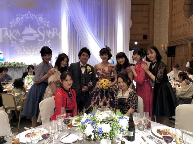 ◆画像◆インゴルシュタット関根貴大と元SKE金子栞の結婚式に三上悠亜など元SKEメンバーが集結していると話題に!