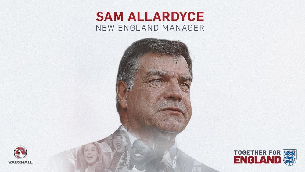 ◆速報◆イングランド代表監督、サム・アラダイスに決定!年俸£3m2年契約
