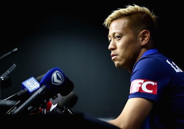 ◆Aリーグ◆5年遅い?本田圭佑、新天地でボランチ転向か「新しいポジションで新しいチャレンジになる」