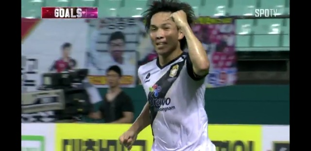 ◆Kリーグ◆慶南FC博多の悪童邦本宜裕、首位全北戦で決勝ゴール!