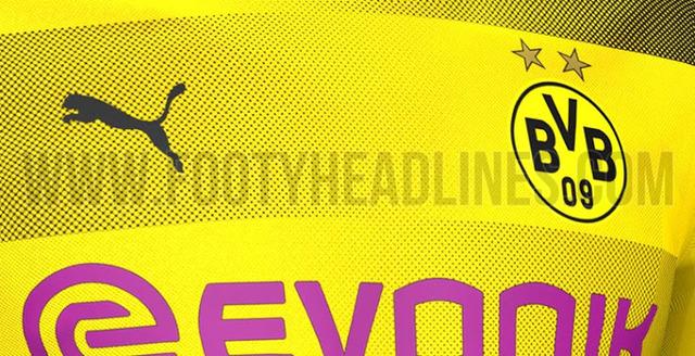 ◆ブンデス◆ドルトムントの来季新ユニフォームがリークされる!