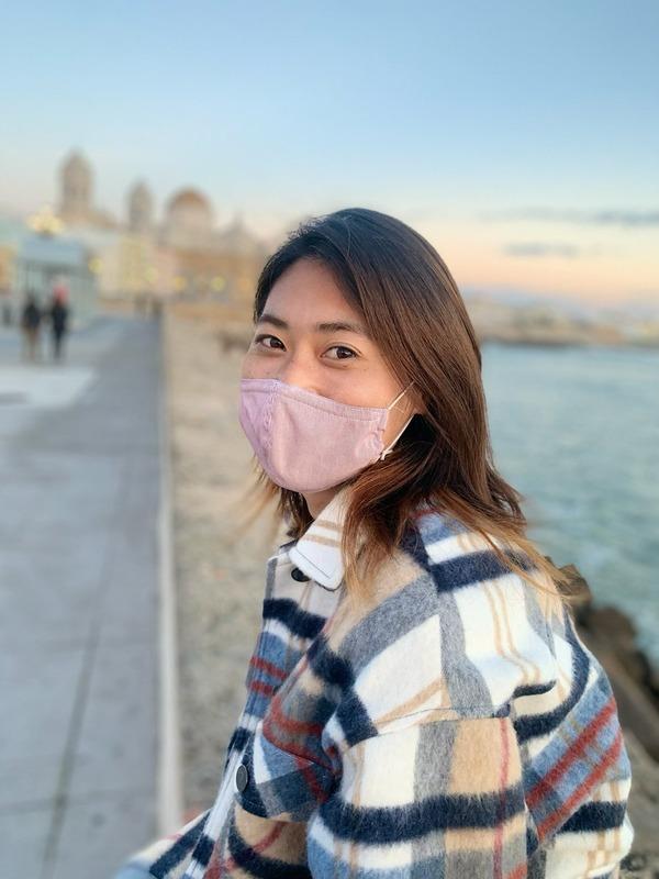 """◆画像◆「恥ずかしいから…」なでしこ田中陽子、流行りの服着てのセルフィに""""ツッコミ"""""""