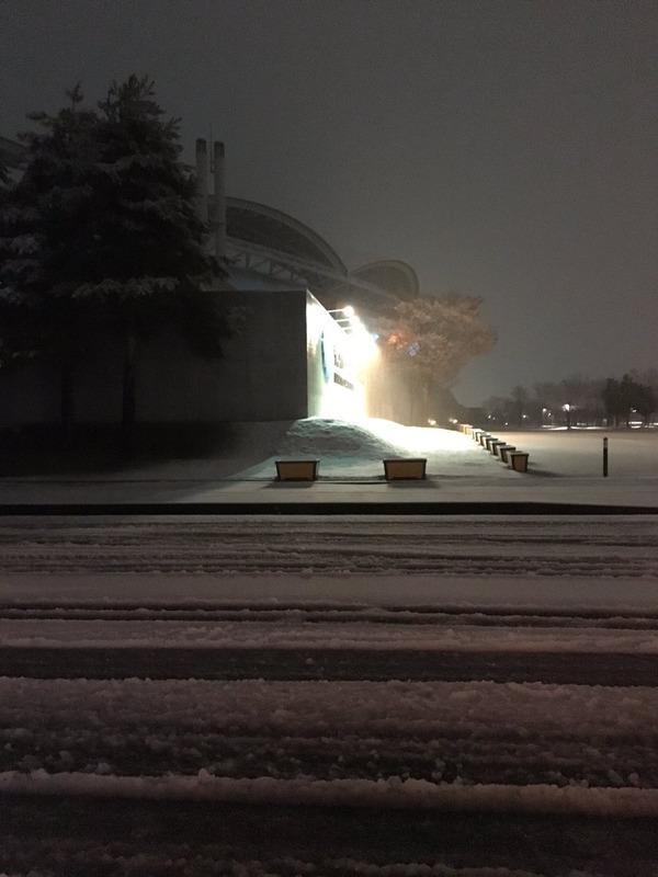 ◆悲報◆新潟×C大阪開催のビッグスワン、昨夜からの積雪溶けず