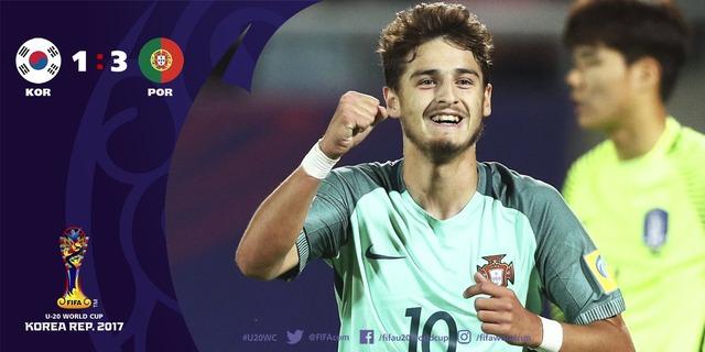 ◆U20W杯◆R16 韓国×ポルトガルの結果 ポルトガル格の違いを見せつけ余裕の1-3勝利!R8進出