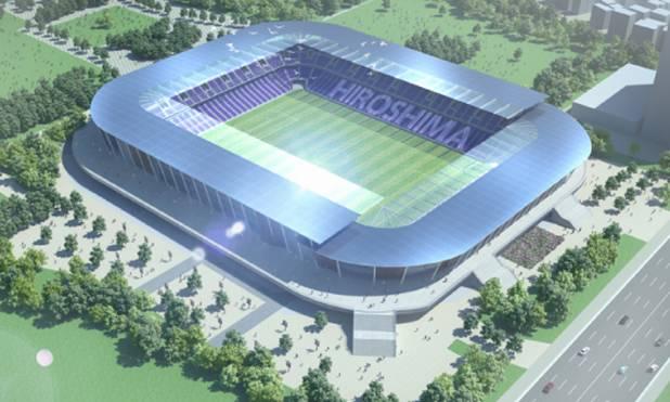 ◆スタジアム◆広島市内の新スタジアムの建設を話し合う検討協議会が試算 3万人収容サッカー場 整備費140億円