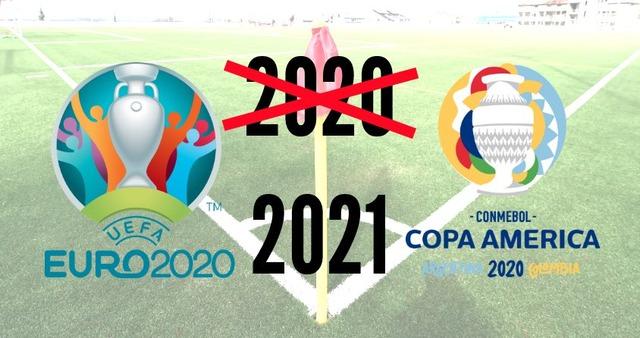 ◆悲報◆コパ・アメリカ2020も1年延期決定