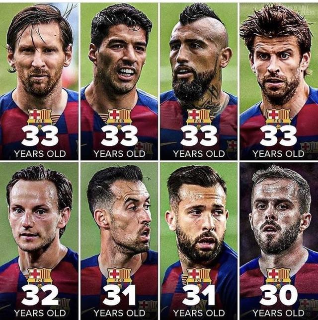 ◆リーガ◆バルセロナは若手のチームだから数年後が本番だよ!…なお主力のメンツ…