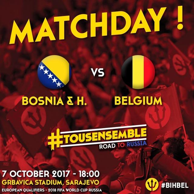 ◆W杯欧州予選◆H組9節 ボスニア×ベルギー 2転3転のシーソーゲームはベルギーがねじ伏せる、PO行き2位かかるボスニアは痛い敗戦