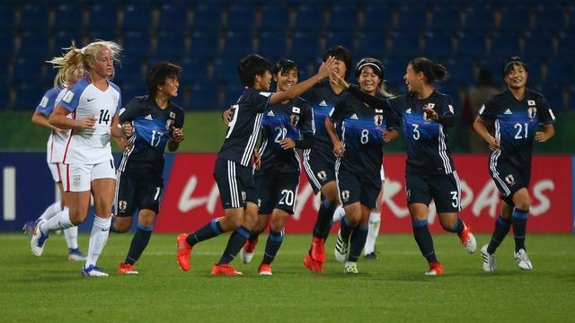 ◆U17女子W杯◆リトルなでしこ、アメリカに3-2逆転勝利!3連勝で準々決勝進出(ハイライト)