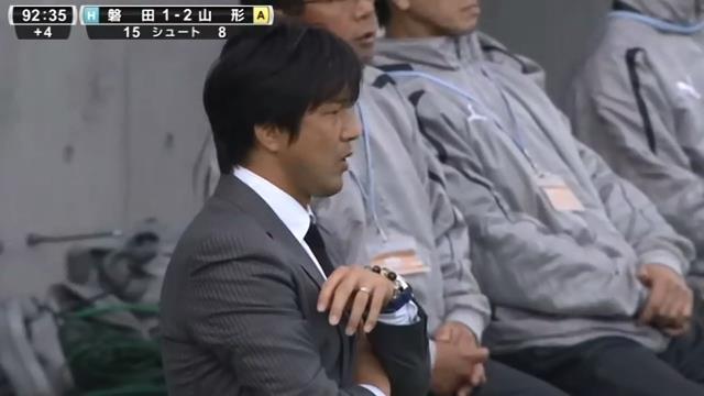 ◆JPO◆敗戦した磐田監督名波浩 会見2分12秒で終了