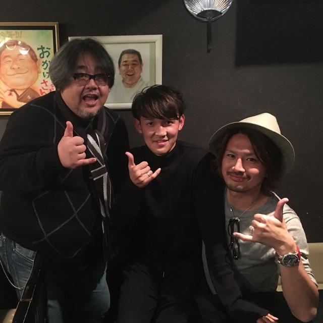 ◆画像◆宇佐美貴史さん帰国早々G大阪の暴れん坊岩下アニキにご挨拶に行っててワロタwww