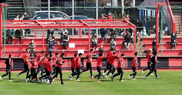 ◆悲報◆コンサドーレ札幌久々の公開練習にサポが102人も集まってしまう