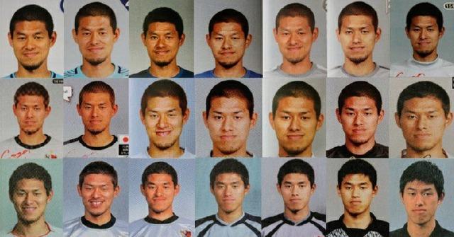 ◆J小ネタ◆曽ヶ端の21年分の名鑑写真がほとんど変化がなくて草