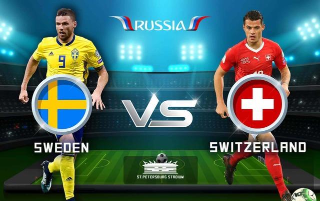 ◆ロシアW杯◆R16 スウェーデン×スイス スウェーデン、フォルスベリのゴールを守りきりR8進出!