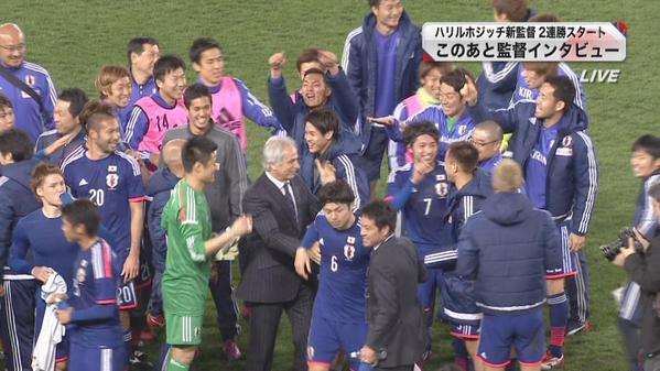 ◆JALC杯◆日本対ウズベキスタン ハリル采配の妙も【どこよりも早い採点】