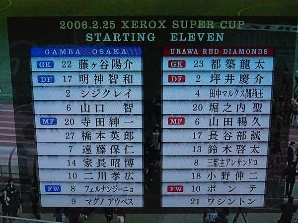 ◆J小ネタ◆9年前のゼロックス、G大阪×浦和レッズの豪華スタメンが凄かったと話題に!