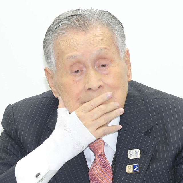 ◆東京五輪◆森喜朗組織委員会会長サッカーは「24になろうと25になろうと知ったこっちゃない」
