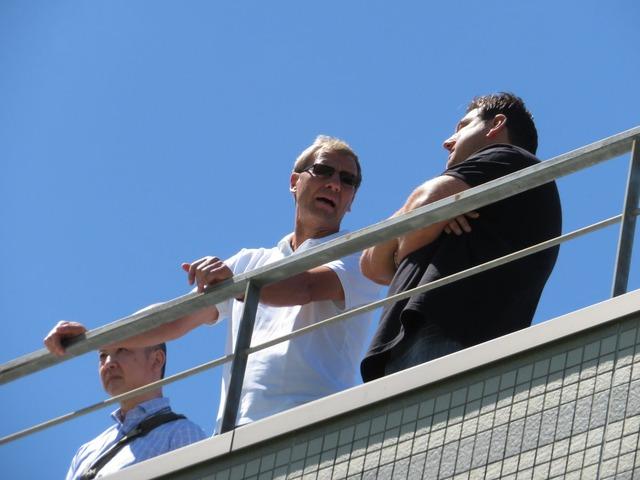 ◆画像◆浦和レッズのレジェンド、元ドイツ代表ギド・ブッフバルト、レッズのクラブハウスに降臨!
