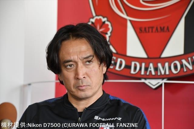 ◆画像◆浦和、再登板の大槻毅氏…オールバック封印も顔が既に組長モード