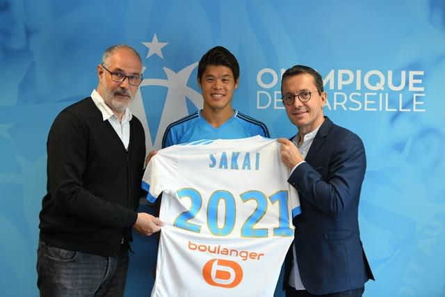 ◆朗報◆マルセイユDF酒井ゴ、マルセイユと2021年まで契約延長!マルセイユ公式が発表