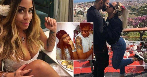 ◆セリエA◆ビッグカップル誕生、ネイマールの妹がインテルのブラジル代表FWガビゴルとのキス画像をUP