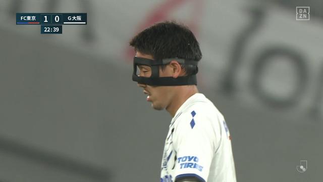 ◆悲報◆ケンユーにやられたG大阪の日本代表DF昌子源、鼻骨骨折