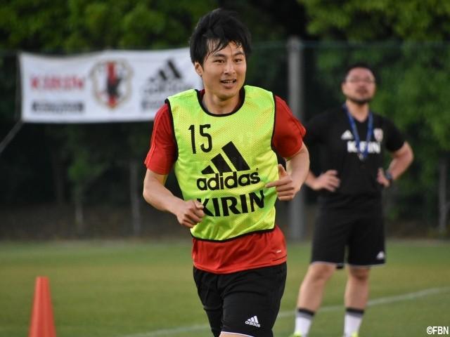 ◆日本代表◆初選出MF加藤恒平 ジョークの余裕も「日本のブルガリアヨーグルトが一番おいしい」
