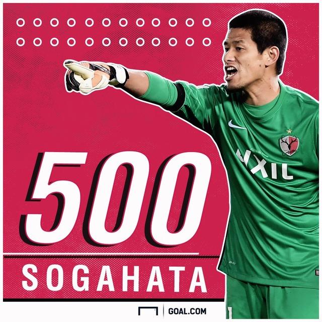 ◆Gif小ネタ◆スライディング当たってないのに劇団始める500試合出場記念の大ベテラン曽ヶ端さん半端ないっすwww