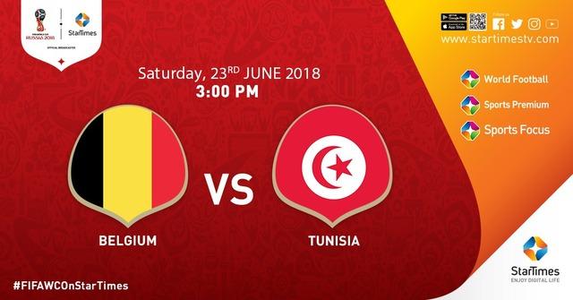 ◆ロシアW杯◆G組2節 ベルギー×チュニジア ベルギー攻撃力爆発!2失点も5得点で大勝!