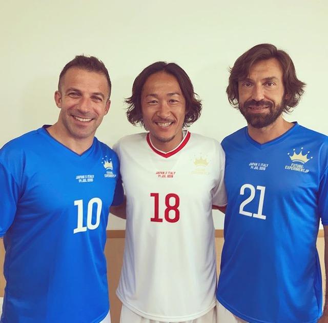 ◆Jリーグ◆イタリア代表のレジェンド デル・ピエロ、ピルロが来日中!