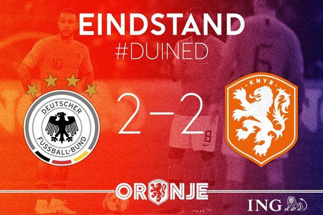 ◆UEFA-NL◆A1組6節 またも危険なスコア発動!ドイツ85分から2点差追いつかれる、オランダGL首位確定!ドイツ未勝利で降格!