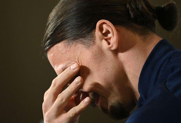 ◆各国代表◆神の目にも涙…代表復帰のイブラヒモビッチ、会見で息子に行かないでと言われたと泣く