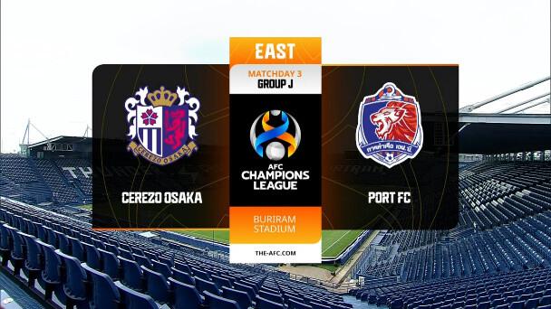 ◆ACL◆J組3節 C大阪×ポート C大阪TO裏目終盤追いつくも松井のバンザイが響きドロー
