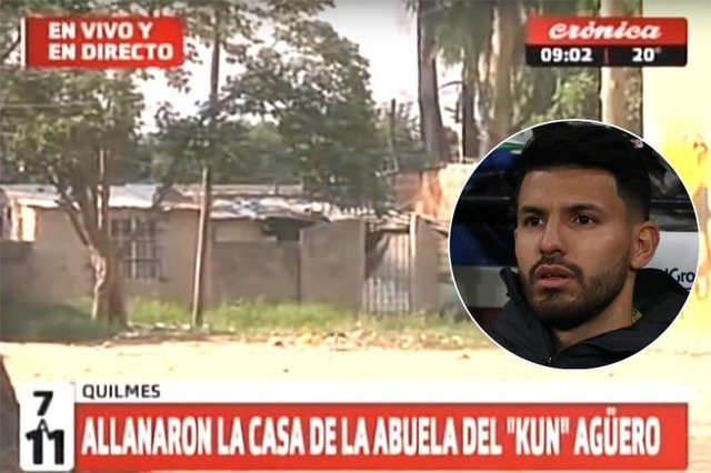 ◆悲報◆アグエロの祖母の家で違法薬物が見つかり親族が逮捕されたとアルゼンチンメディア アグエロはツイで反論