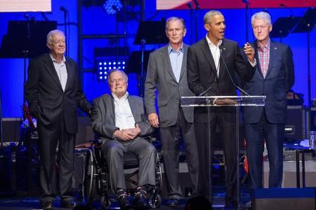 ◆親中派◆ブッシュ、クリントン、オバマ、カーター、4人の元大統領がトランプ批判の声明!