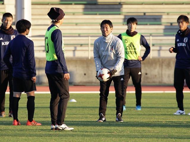 ◆五輪代表◆森保ジャパン、初練習の布陣はやっぱり3421の変則ミシャサッカー