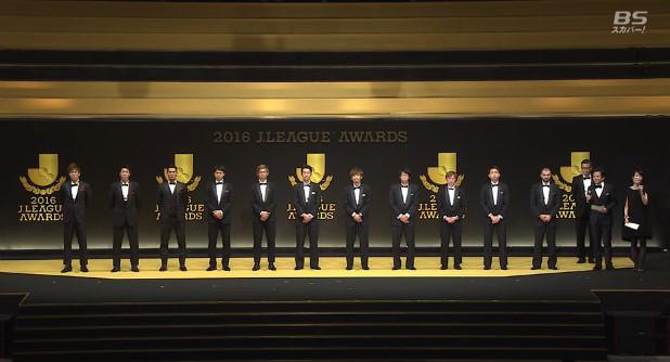 ◆Jリーグ◆アウォーズ、MVP&ベスト11発表!MVPは中村憲剛(川崎)ベス11は最多勝ち点浦和から最多の4名