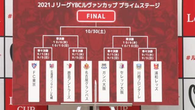 ◆速報◆ルヴァン杯R8組み合わせ決定!川崎F×浦和、大阪ダービー、FC東京×札幌、鹿島×名古屋
