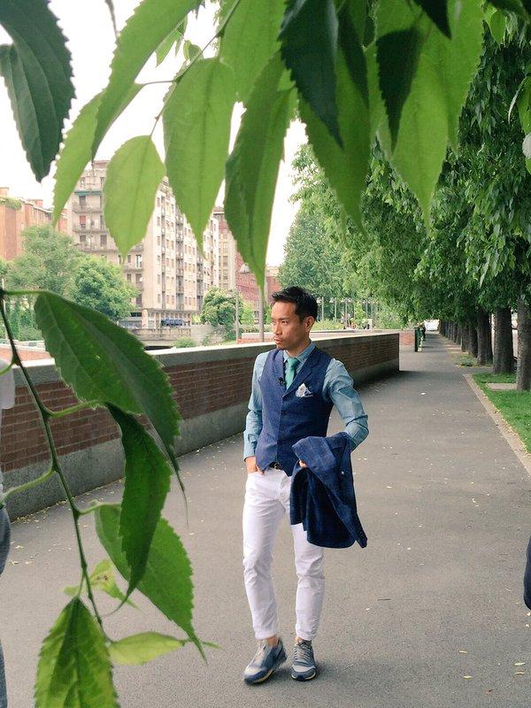 ◆動画小ネタ◆アナザースカイ収録中の長友佑都、優雅に脚組んでお茶飲んでて草w