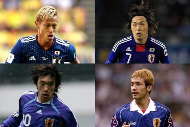 """◆FIFA◆W杯史上日本の史上最高の選手は誰?4人の「日本代表レジェンド」FIFA公式が""""厳選写真""""公開"""