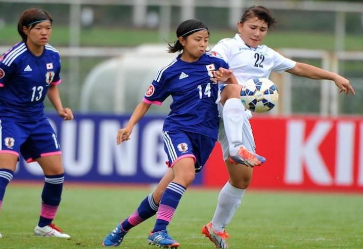 ◆新ヤンなで◆U19アジア女子選手権A組第2節 先発10人入替えの日本、ウズベキスタンに6-0大勝!2連勝で決勝T進出決定