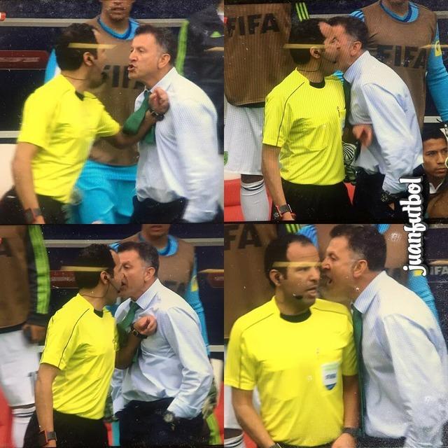 ◆コンフェデ杯◆メキシコ監督オソリオ、PK取ってもらえずまたも激おこ!副審と主審に悪態ついて退席処分