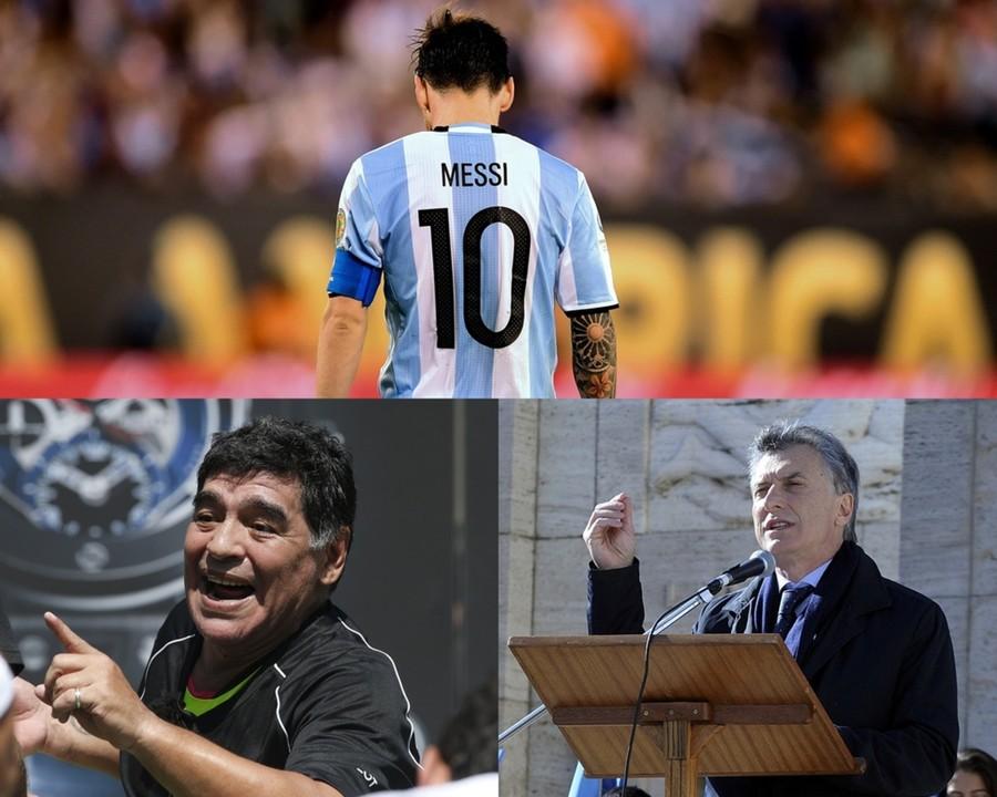 ◆アルゼンチン代表◆メッシの代表引退表明、母国の英雄マラドーナと大統領が撤回を求める!
