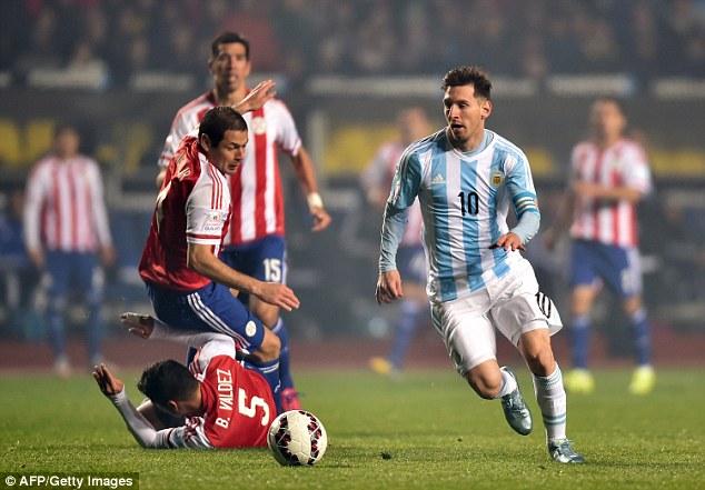 ◆好プレー◆コパアメリカ準決勝4点目のメッシのプレーが凄すぎて笑うしかないと話題に!