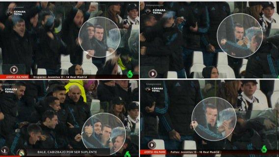 ◆悲報◆ギャレス・ベイル、クリロナのスーパーゴールに喜ばず仏頂面だとスペインTV局に晒される